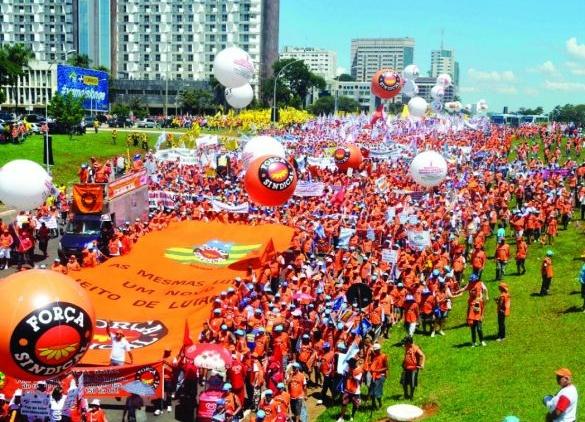 Contra as propostas de reformas: Marcha para Brasília acontece no dia 24 de Maio
