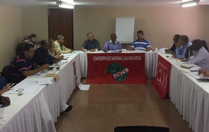 Reunião da CNTV discute impactos da reforma trabalhista ao vigilante