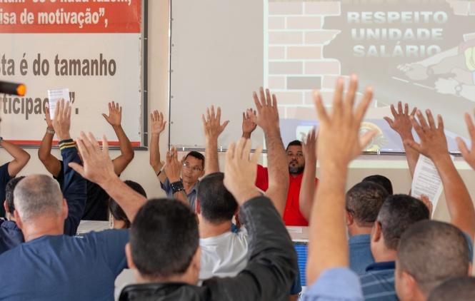 Vigilantes realizam Assembleia Geral para definir Campanha Salarial