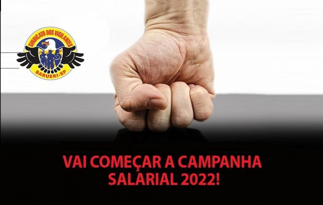 Vai começar a Campanha Salarial 2022 dos Vigilantes de Barueri